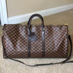 Handbags - Faux Louis Vuitton duffel bag